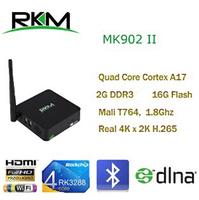 New Rikomagic MK902II Quad Core Android 4.4 RK3288 2G DDR3 16G ROM Bluetooth Dual Band Wifi 802.11n[MK902II/16G] Free Shipping
