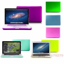 2014 New Colours Rubberized Matte Case For Macbook Pro 13 13.3 15 15.4 For Macbook Air 11 11.6 13 For Macbook Retina 13.3 15.4(China (Mainland))