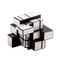 ShengShou New Silver 3x3x3 Mirror Bump Magic Cube Twisty Puzzle Smooth 3x3 Cube Twist Puzzle Educational Toys Children Gift Toys