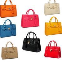 2014 New Hot Promotion Womens crocodile pattern women handbag Super Star vintage shoulder bag PU leather Women messener bag