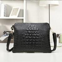 Promotion Women Leather Handbags New Arrival Genuine Leather Crocodile Women Handbag Shoulder Bag Messenger Bag Clutch Bag C015