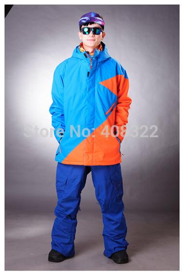 Мужчины 2на1 водонепроницаемый воздухопроницаемый на открытом воздухе куртка тёплый зима лыжный пеший туризм кемпинг альпинизм альпинизм костюм