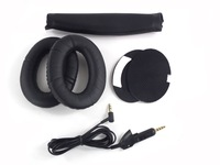 1set Replacement Ear Cushion Pad +Headband+ Cable Cord  for QC 3  OE Headphones