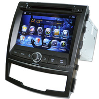 7'' KS-S067 car pc dual-core Pure android 4.2.2 car dvd player with 3g wifi gps bluetooth for SsangYong Korando 2010 - 2013