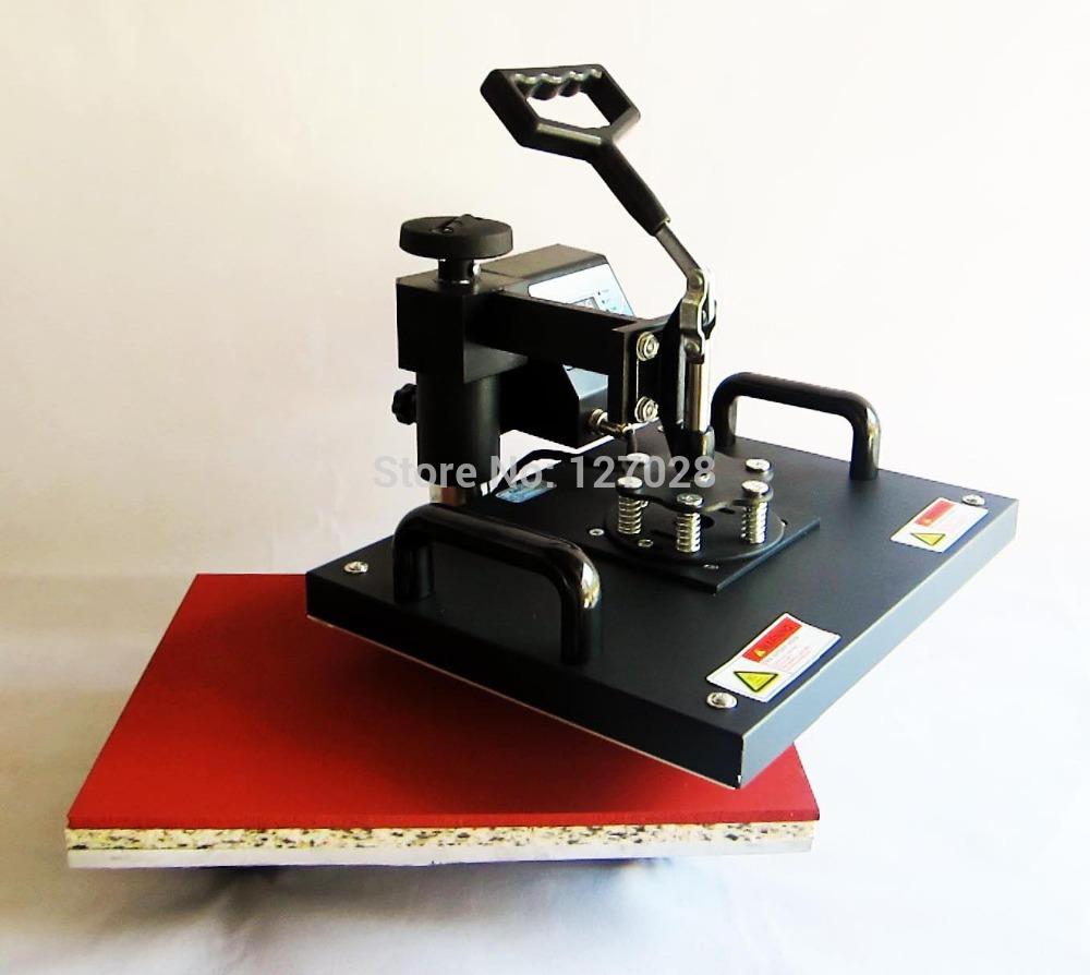 New 29*38CM Swaying Away Heat Press Machine Shaking Head Heat Transfer Machine For Phone Case T shirt Mouse Mat All Flat Stuffs(China (Mainland))