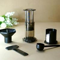 1PC Aeropress coffee and Espresso coffee maker+1 bag 350pcs aeropress coffee filter paper filters