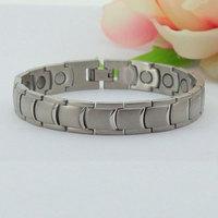 Charm Brand European Stainless Steel Men Magnetic Tourmaline Bracelet