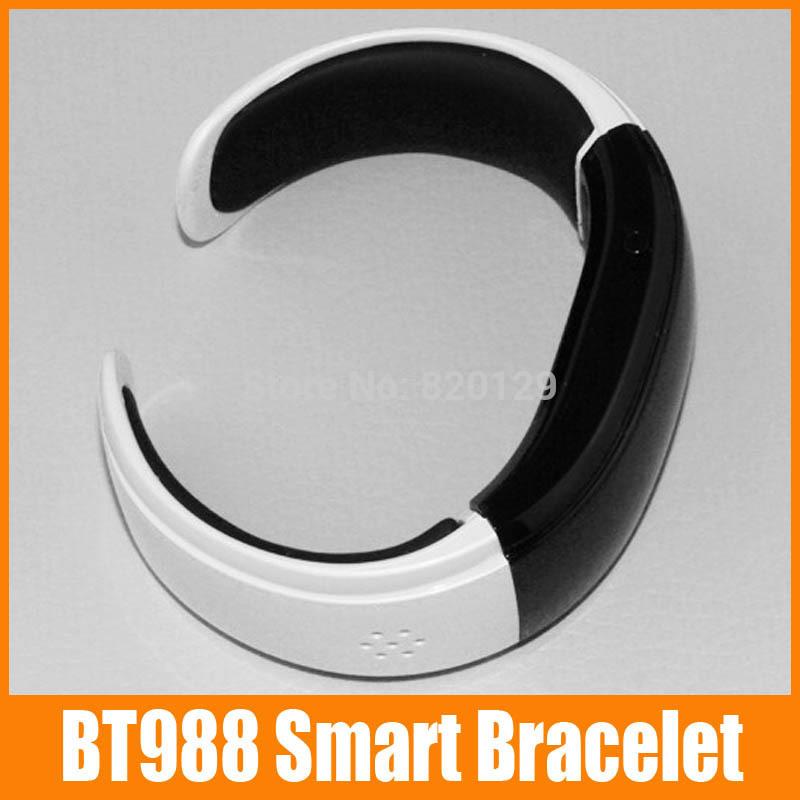 1 piece BT988 Smartwatch Smart Alert Bluetooth 3.0 Bracelet Buzz Alarm Call For Iphone for HTC Smartphones Wristwatch(China (Mainland))