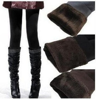 Freeshipping HOT SALE 2014 winter new High elastic thicken lady's Leggings warm pants skinny pants for women