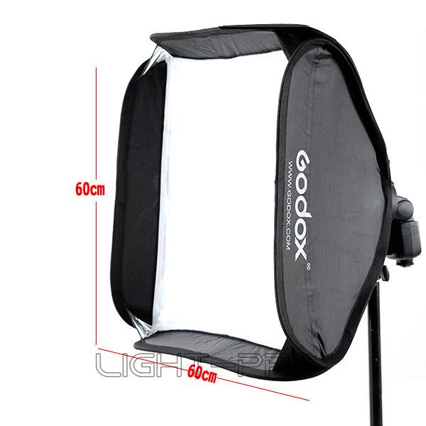 Аксессуары для фотостудий Godox 60x60cm Flash/bowens Elinchrom