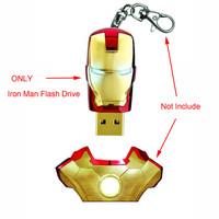 64 Gb USB 2.0 Memory Stick Flash Pen Drive Unique Iron Man Model Enough Memory
