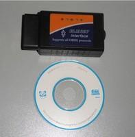 Promotion For V1.5 ELM 327 Bluetooth OBD2 OBDII Wireless Scanner ELM OBD 2 Code Reader Auto Diagnostic Tool
