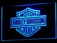 d093 Harley Davidson Neon Light Sign home decor shop led sign