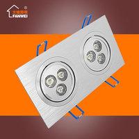 LED Downlight LED Ceiling Recessed lighting grid full set of lights 6W10W14W 24W