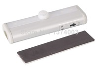 TDL-7121A Li-battery operated led under cabinet light  pir motion sensor LED Light rechargeable battery