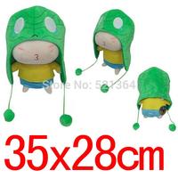 Free shipping(5 pcs/lot)LOL Hight quality  lol Amumu 32*28cm  Plush Hat Cosplay for Halloween