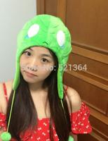 Free shipping 2014 New! LOL Hight quality  lol Amumu 32*28cm  Plush Hat Cosplay for Halloween