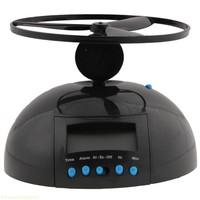 Top quality Promotion Hot sale Flying Alarm Clock(Black)
