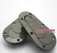 Carbon fiber D1 JDM Plus Flush Hood Latch and Pin Kit Racing Latch Locks Locking Hood Kit without  lock