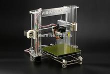DHL Free Shipping 2PCS Prusa Reprap i3 3D printer DIY kit A600 impressora 3D With Three