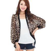 New Leopard Print Waterproof  Women Hiking Skin Jacket Size L-3XL Sun Protection Ultra-light Lady Outdoor Hooded Coat