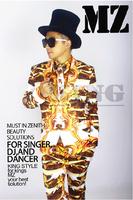 S-XXXL ! bigbang Zhi- Long GD stage pants shirt Europe America atmospheric nightclub plus size costumes clothing