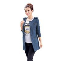 Korean Style Women Casual Woolen Jacket Large Size M-3XL Super Quality Personalized Design Lady Fashion Warm Outerwear