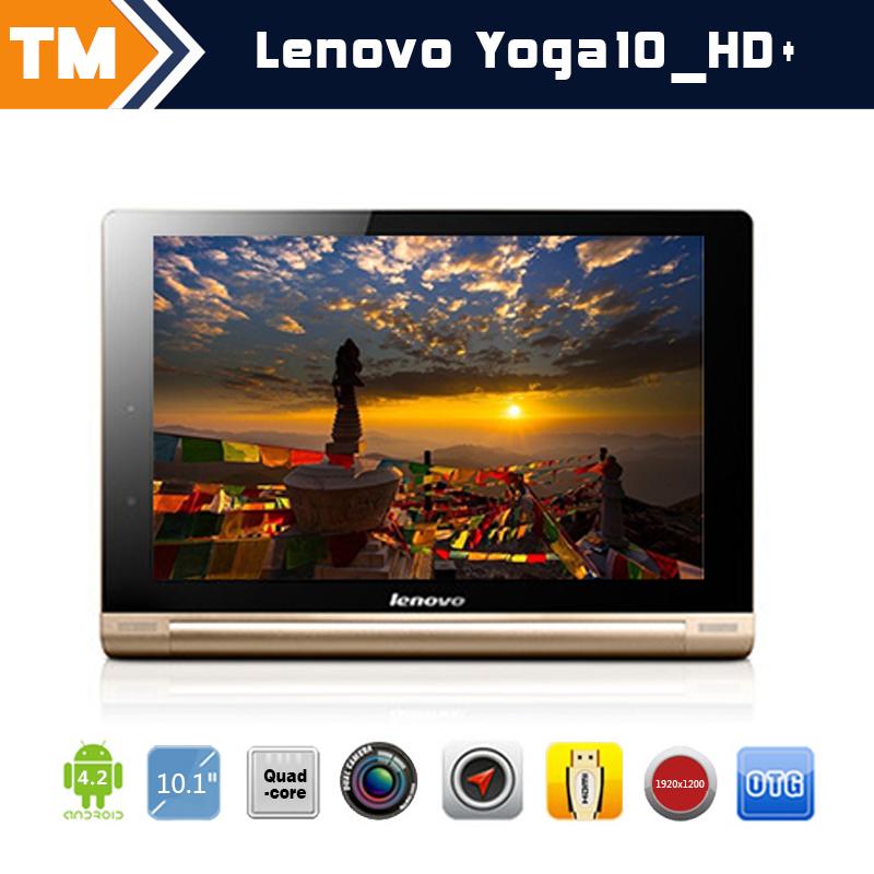 "Lenovo Yoga10_HD+ 10.1"" IPS 1920*1200p 16GB Quad Core 1.6GHz Android 4.3 2G/3G Phablet Bluetooth Black&Golden 29002631(China (Mainland))"