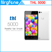 5000mAh Battery Original THL 5000 Mobile Phone MTK6592 Octa Core 2.0GHz 5 inch Android 4.2 1080P IPS RAM 2GB 16GB ROM 13.0MP 3G