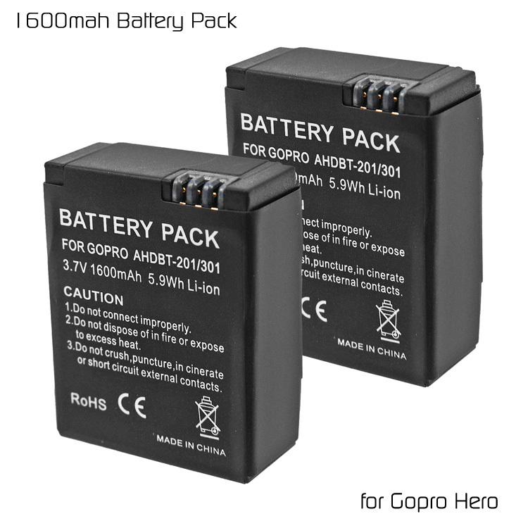 Аккумулятор T3 2 /3.7V 1600mAh Digtal Power GoPro Hero 3 3 EVATH-322672 аккумулятор d minamoto r20 8000 mah nimh 2 штуки