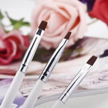 Professional 3PCS Nail Art Design Painting Tool Pen Polish Brush Kit Gel UV Nail Print Brush Set(China (Mainland))