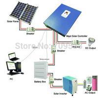 3 stages charging MPPT 3rd generaration 12V 24V 48V 40A solar charge controller price