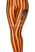 YWNN New Arrival Autumn Fashion Strips 3d Print Girl Legging High Elastic Slimming Mention Hip Plus size Woman Leggings