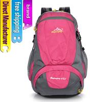 Mountaineering backpack shoulders bag lightweight waterproof outdoor sports men and women bags 45L