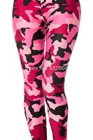 YWNN  Girl's Sexy Hot AURORA SKYE HEX COLOUR Lovely Camouflage printed and Robots Cartoon 3d print Legging Women Elastic Pants