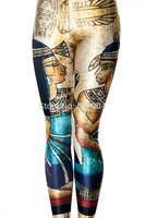 YWNN New Arrival Women Sexy Leggings Cleopatra 3d printed Causel Leggings Hot Girl Street Wear Fashion Pants Free Shipping