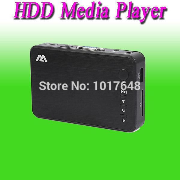 INPUT SD/USB/HDD Output HDMI/AV/Optical Support DIVX AVI RMVB MP4 H.264 FLV MKV Music Movie 1080P Full HD HDD Media Player(China (Mainland))