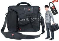 2015 Brand Lander Swiss Army 15.6 inch,men Laptop briefcase notebook handbag Men messenger case Bag Waterproof Nylon Soft Handle