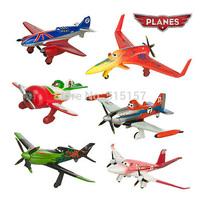 6pcs/set pixar planes dusty planes 2 ishani skipper Ripslinger airplane plane model gifts doll classic toys for children