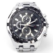 2014 New CURREN Men Quartz Watch 8023 Fashion Casual Sports Watches with Alloy Steel Watchband Wristwatch(China (Mainland))