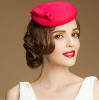 PARIS original elegance top grade 100% wool mini top hats for women