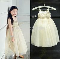 NEW ! Girls summer sequins vest tutu dress , girl princess dress , 5pcs/lot  LWH17