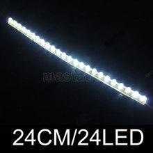 White DC 12V 24 LED Waterproof LED Strip(China (Mainland))