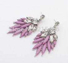 Jewelry European and American fashion wheat Set auger ruili Bohemia earrings stud Earrings