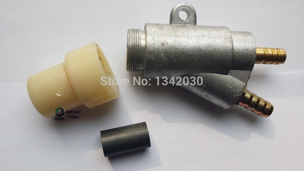 Free Shipping HIGH QUALITY1pc Sandblasting Gun With 1pc Boron Carbide Nozzle(35*20*8mm)(China (Mainland))