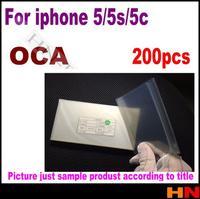 200pcs 250um OCA film for repair broken LCD touch screen for iPhone 5 5s 5c 5G for iPhone5 LCD / Digitizer oca laminator
