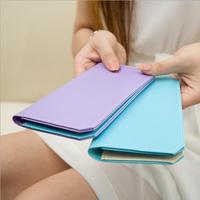 The new card packs women multi-card bit Korean cute lady wallet long section of thin card Taoka folder tide