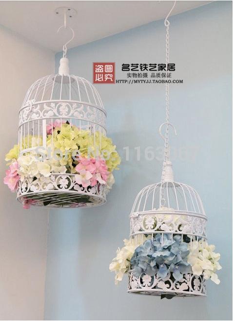 Online kopen wholesale decoratieve metalen vogelkooi uit china decoratieve metalen vogelkooi - Decoratie kooi ...