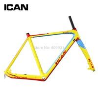 Top-rated carbon frame BMX disc cyclocross bike frame di2 PF30/BSA carbon fiber bicycle frame AC059