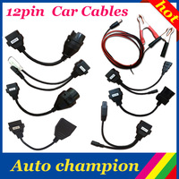 2014 best price !!! cdp auto 8pcs per set car cables for autocom and truck cdp pro plus by cn post a transmission line
